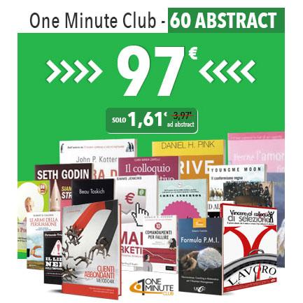 OneMinuteClub - La Libreria Digitale di Business e Crescita Personale!