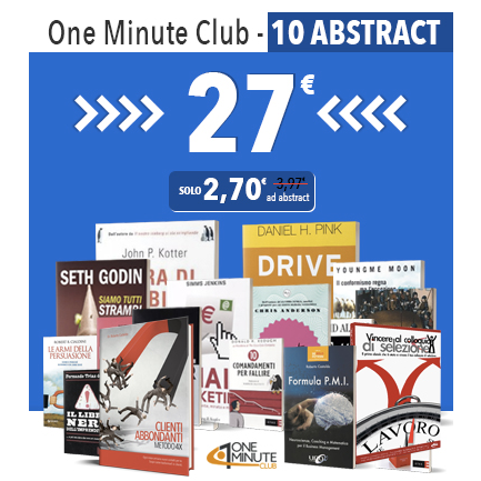 One Minute Club abbonamento di 10 abstract