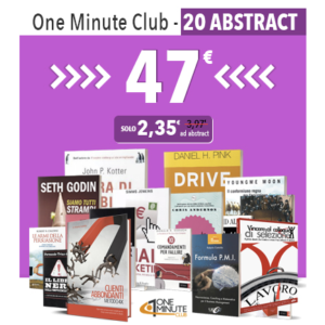 One Minute Club abbonamento di 20 abstract