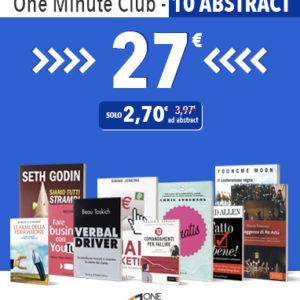 One Minute Club abbonamento di 10 abstract
