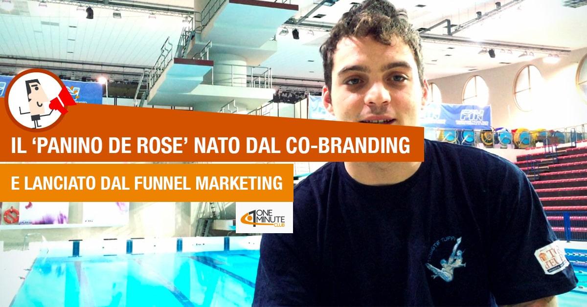 Il 'panino De Rose' nato dal co-branding e lanciato dal funnel marketing