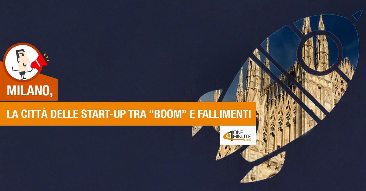 """Milano, la città delle start-up tra """"boom"""" e fallimenti"""