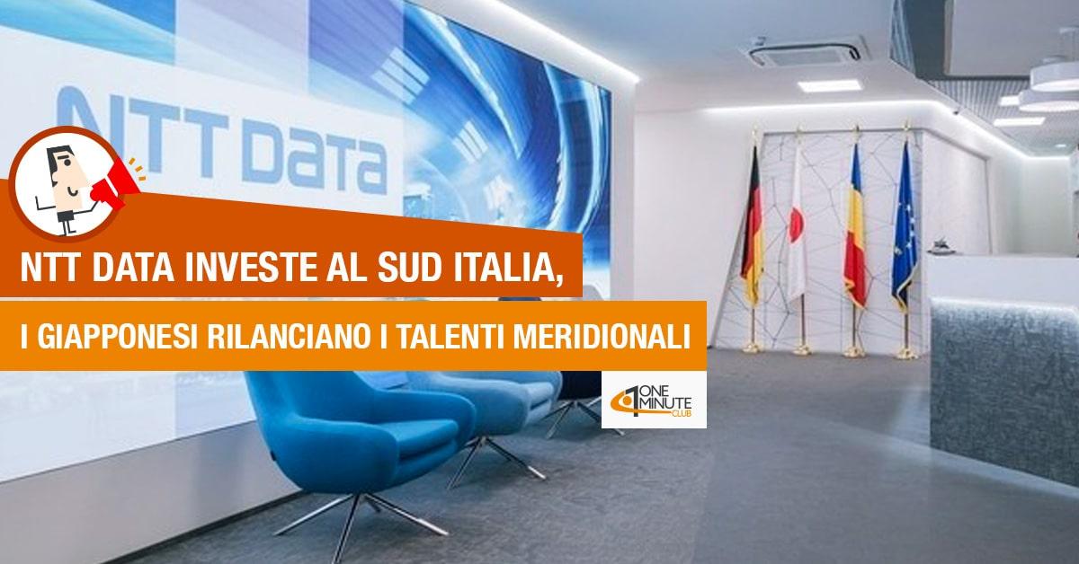 Ntt Data investe al Sud Italia, i giapponesi rilanciano i talenti meridionali