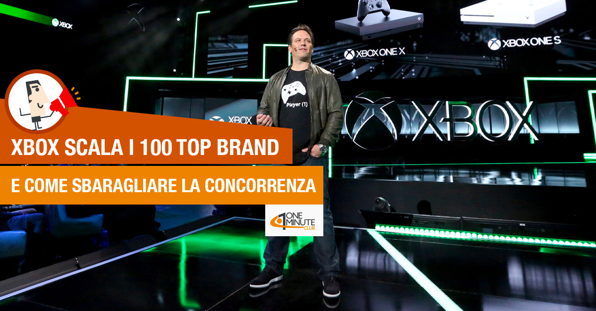 XBOX scala i 100 top brand e come sbaragliare la concorrenza