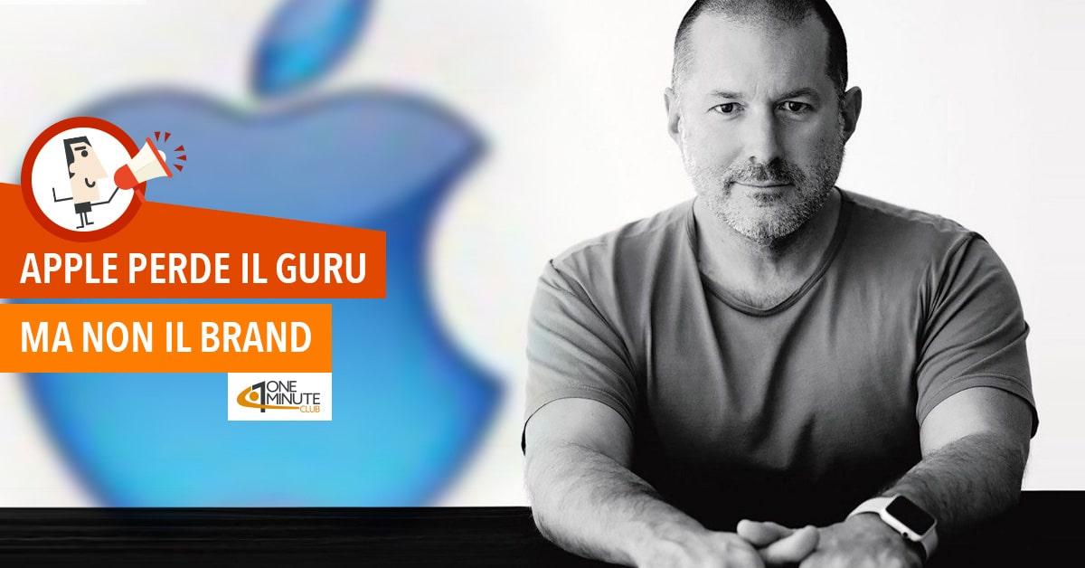 Apple perde il guru ma non il brand