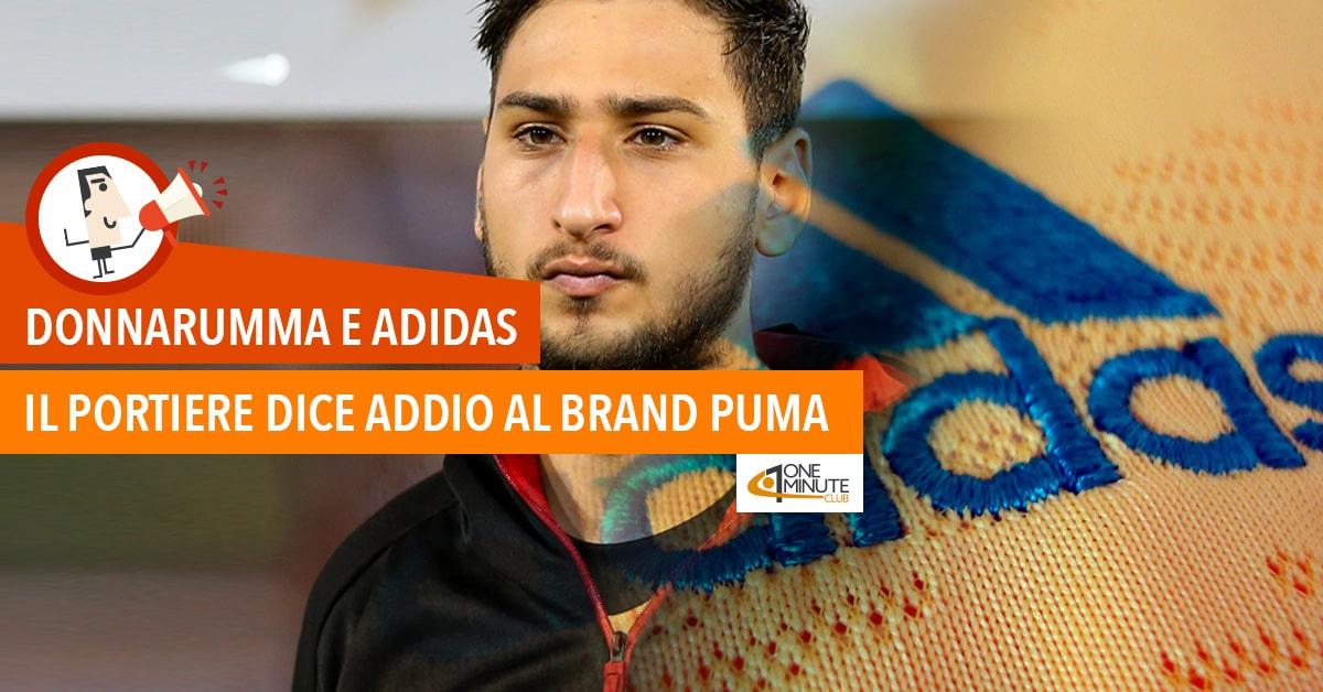 Donnarumma e Adidas: il portiere dice addio al brand Puma