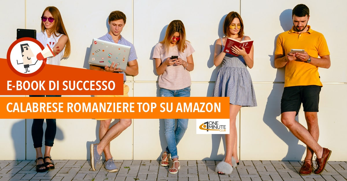 E-book di successo Calabrese romanziere top su Amazon