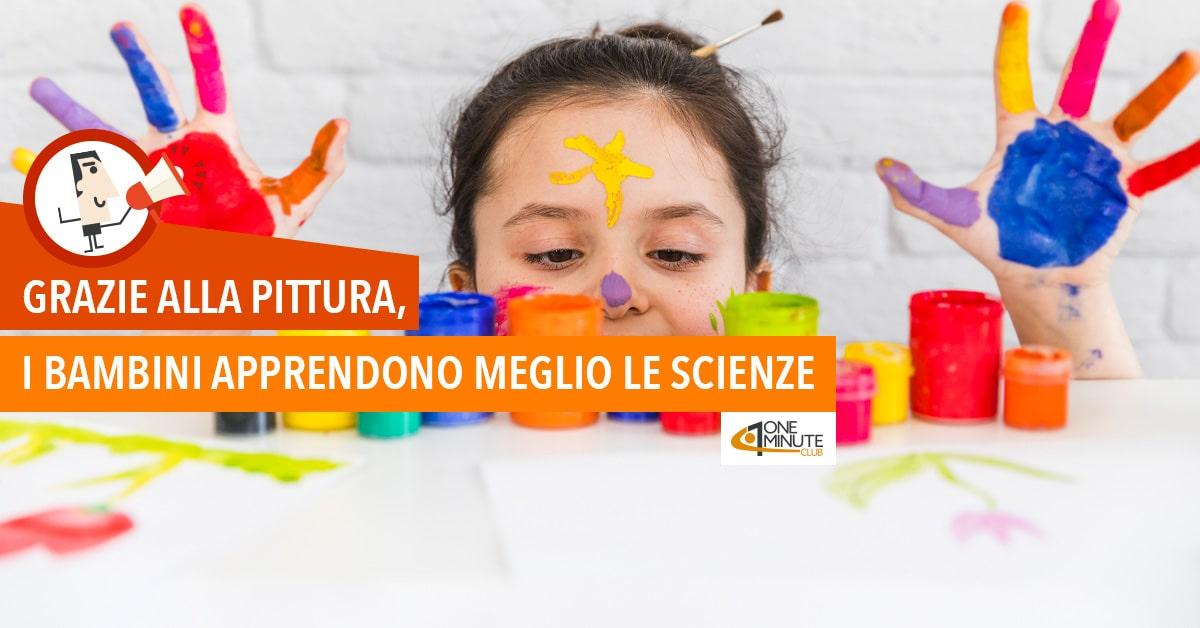 Grazie alla pittura, i bambini apprendono meglio le scienze