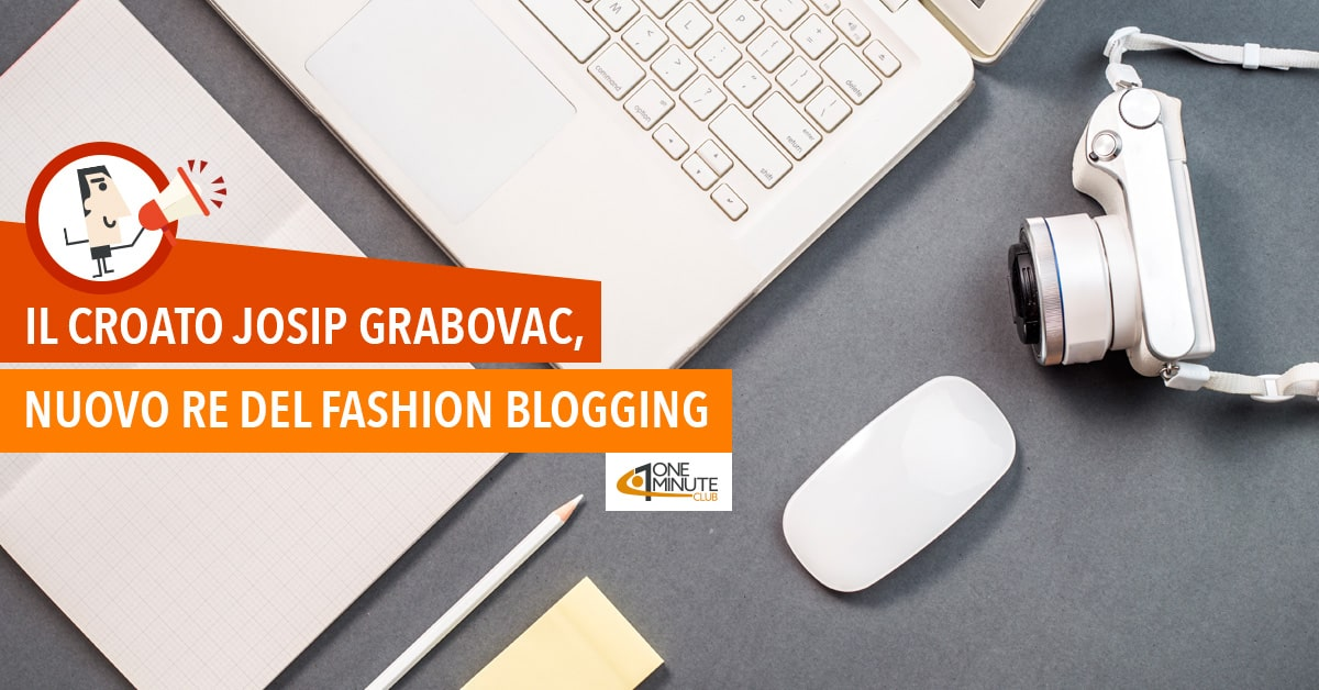 Il croato Josip Grabovac, nuovo re del fashion blogging