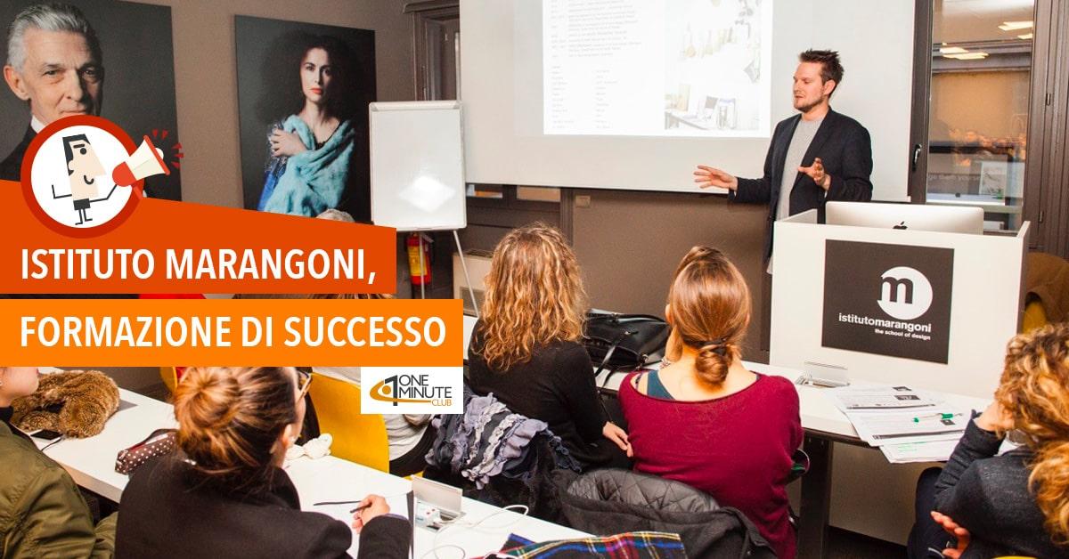 Istituto Marangoni, formazione di successo