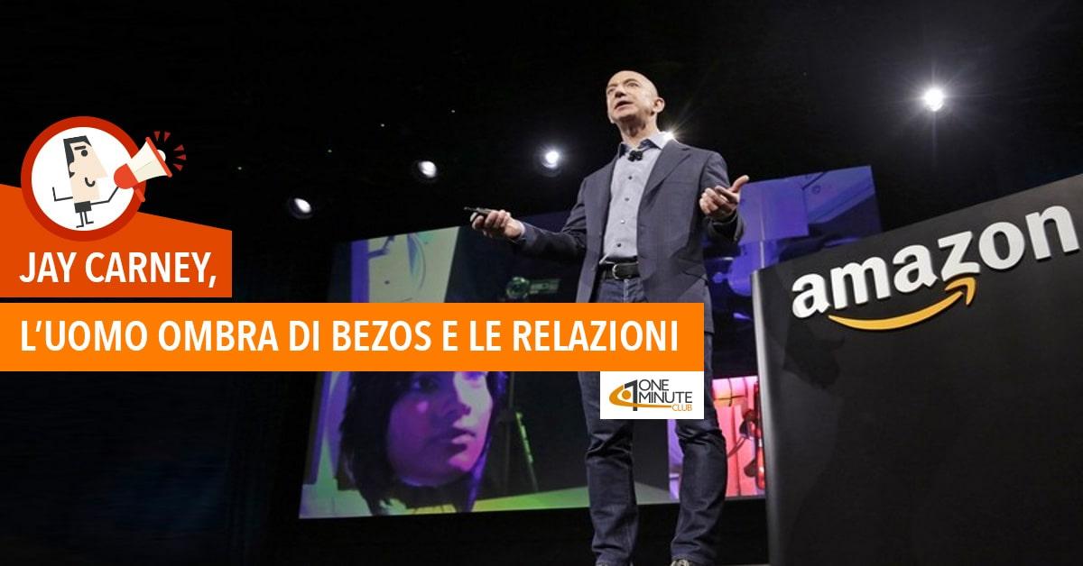 Jay Carney, l'uomo ombra di Bezos e le relazioni