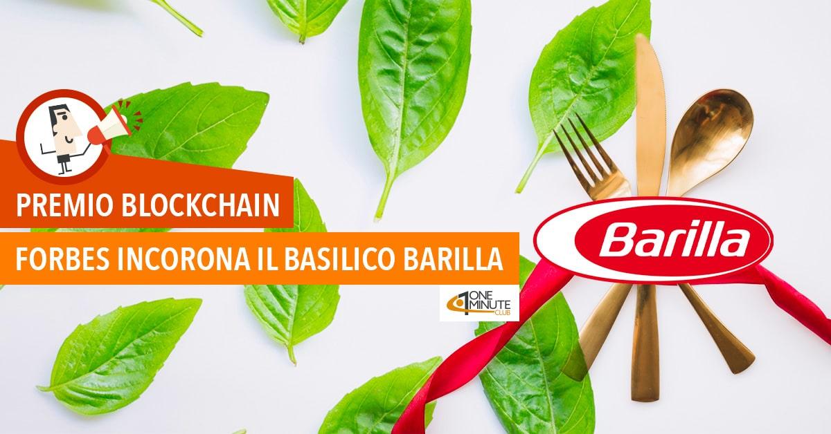 Premio Blockchain: forbes incorona il basilico Barilla