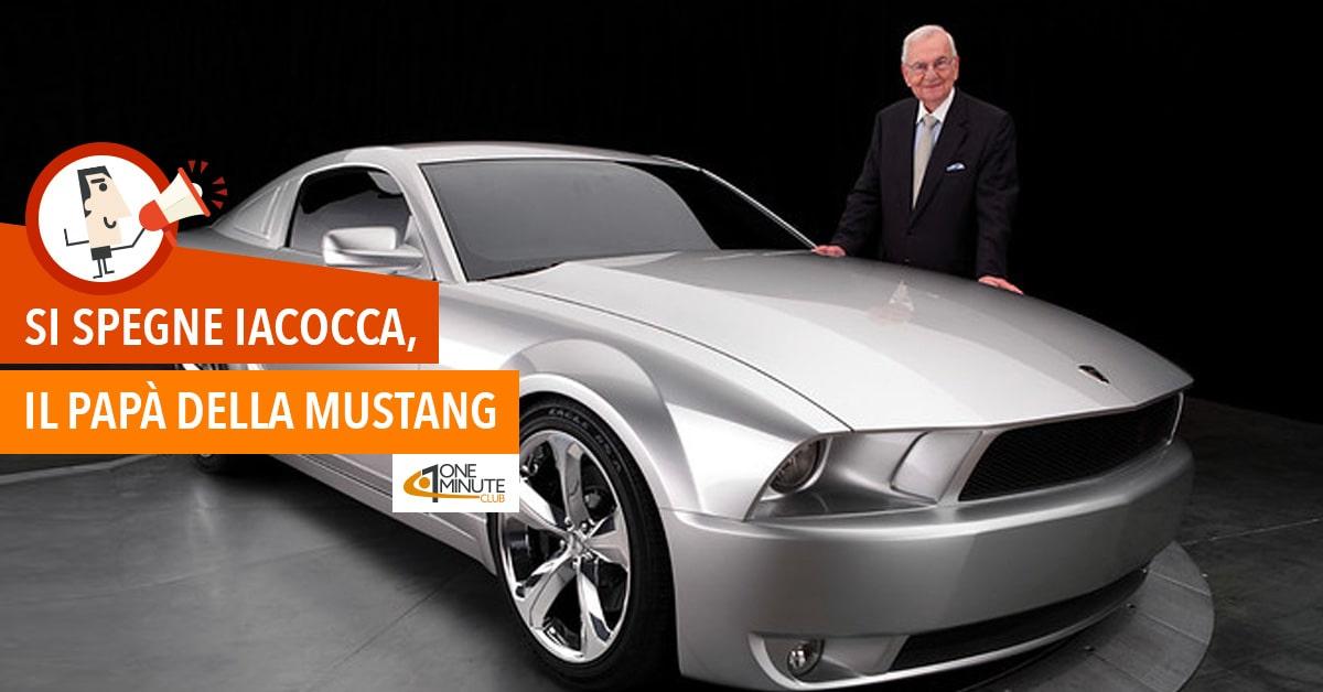 Si spegne Iacocca, il papà della Mustang