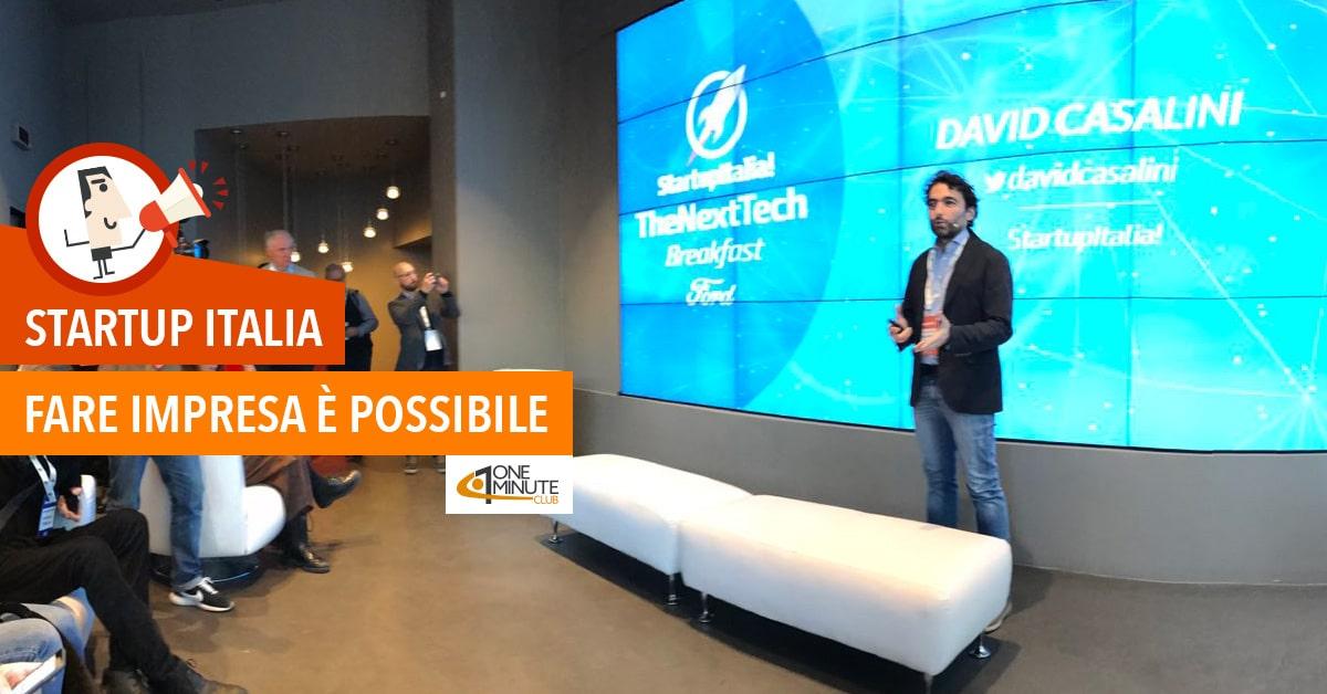 Startup Italia: fare impresa è possibile