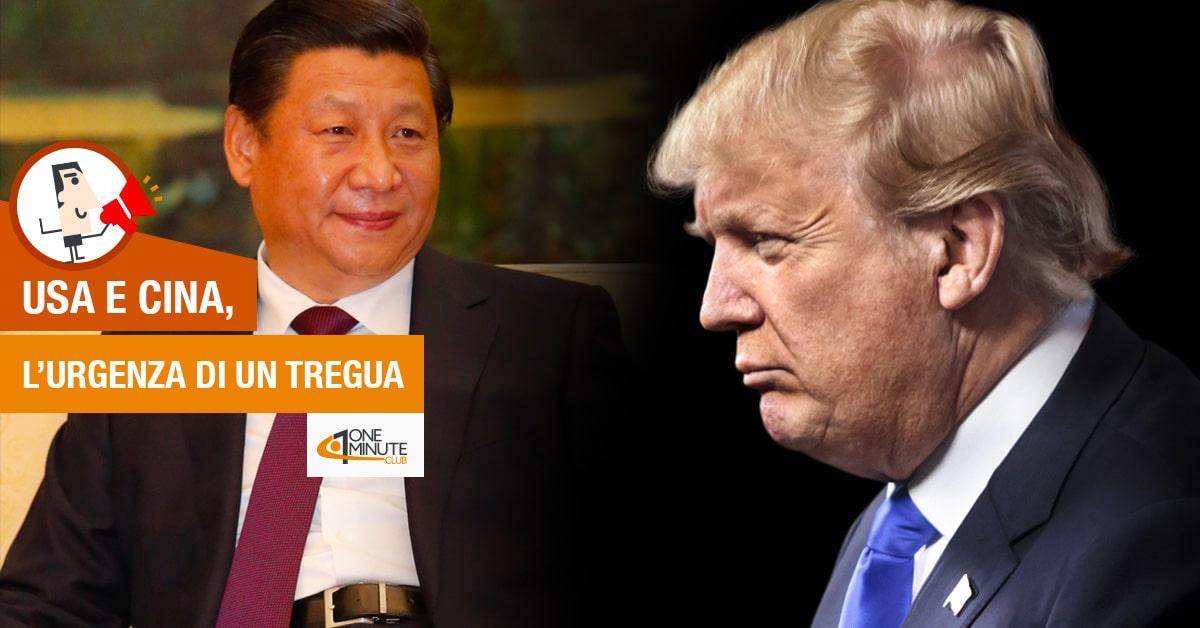 Usa e Cina, l'urgenza di un tregua