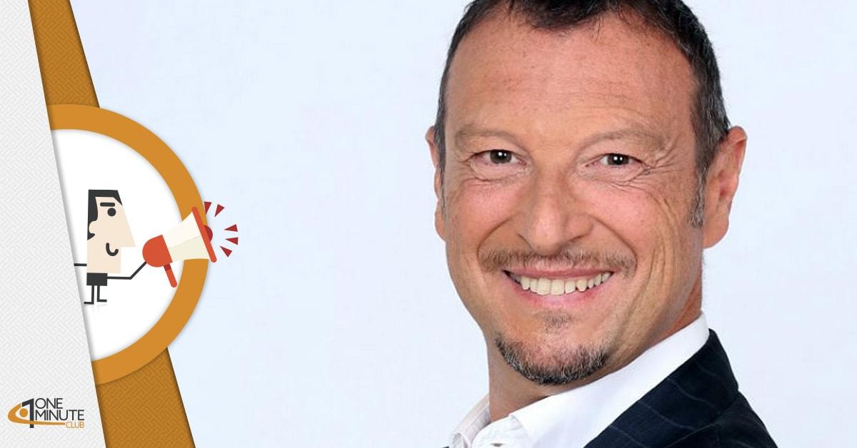 Amadeus vince Sanremo 2020: è lui il conduttore della 70° edizione del Festival