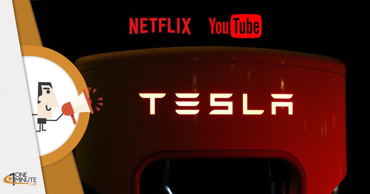 Netflix sulle auto Tesla: l'ennesima novità dell'eclettico Elon Musk