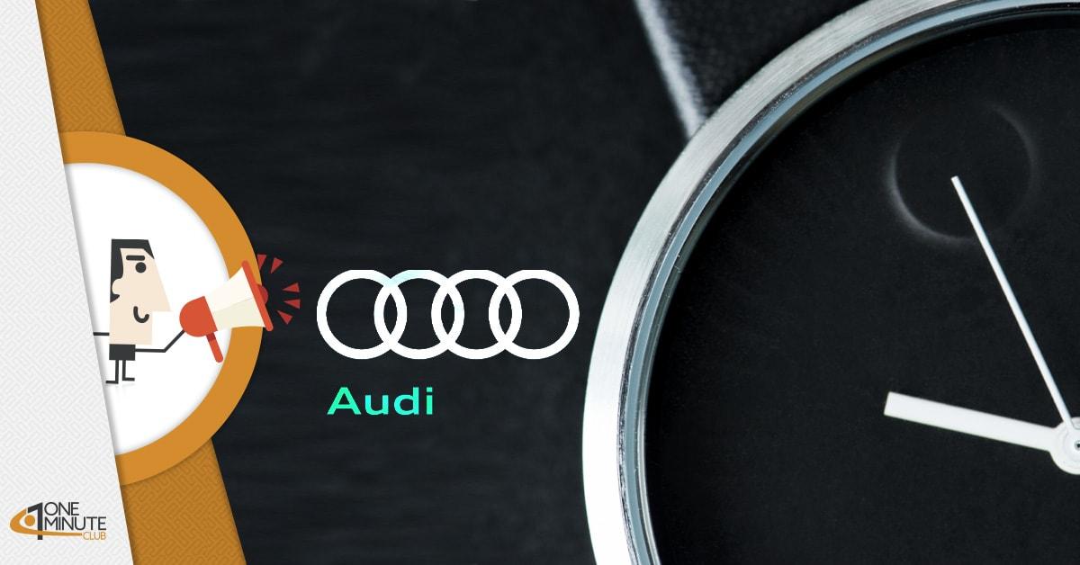 Più Tempo da Audi: la casa di auto regala 1 ora in più