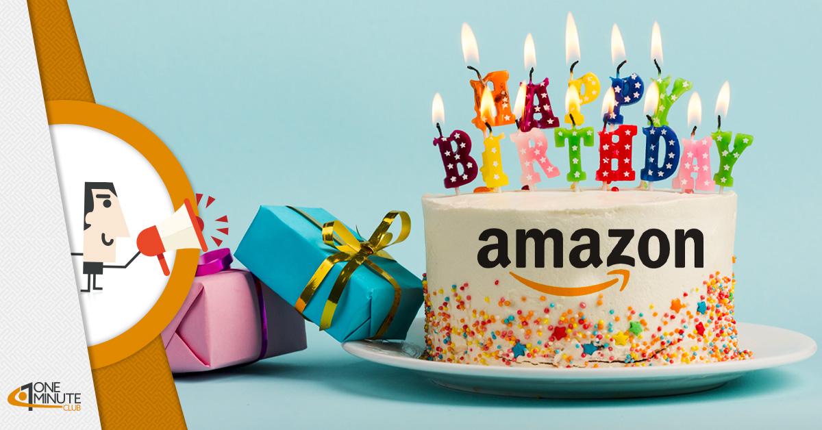 Tanti auguri Amazon: da 25 anni sempre al top
