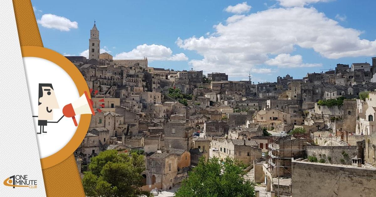 Matera, la cultura che fa crescere l'Italia: la città come modello per le potenzialità del Paese