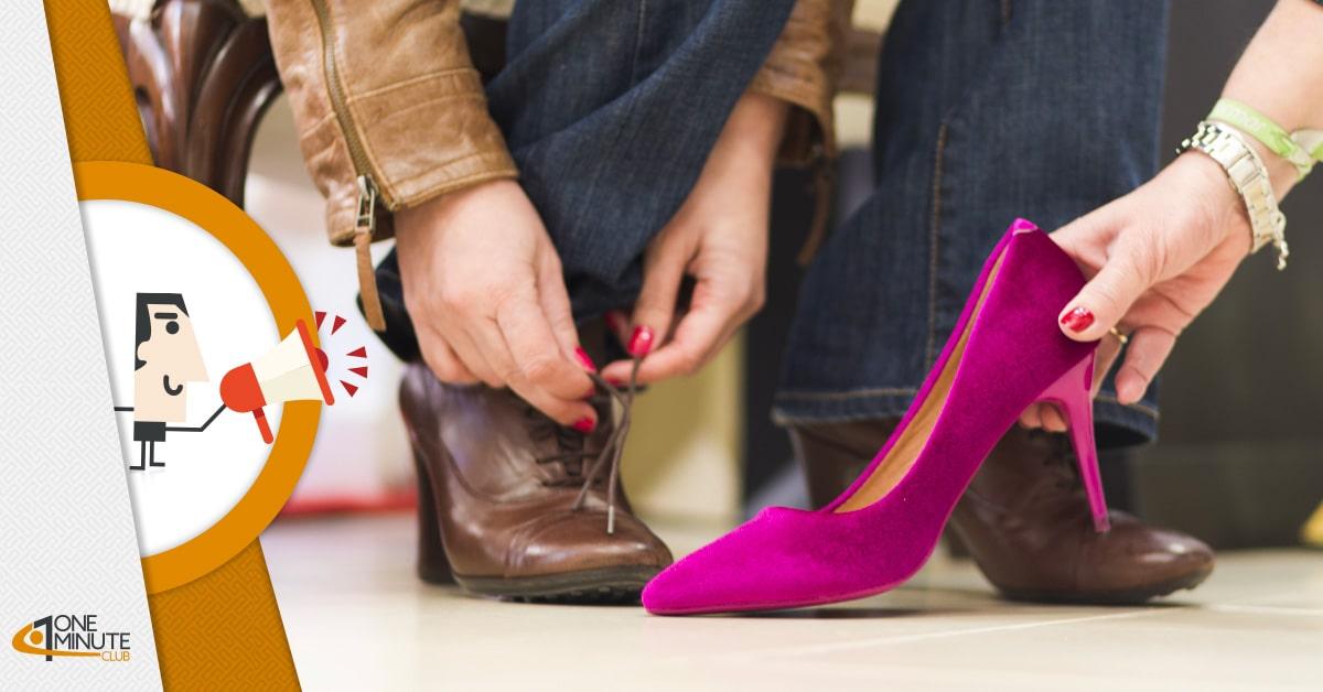 """Vuoi provare le scarpe? Paga 10 euro! La controversa """"tassa"""" di un commerciante di Mirandola"""