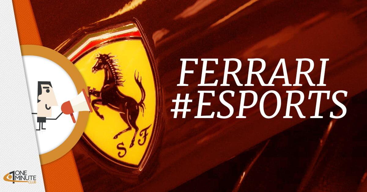 La Ferrari entra da campione nel gaming con Hublot Esports Series
